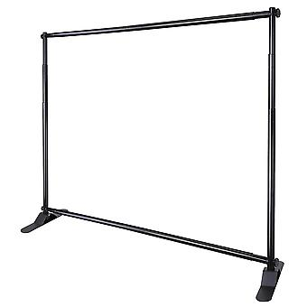 Yescom 10' Telescopic Banner Stand Step and Repeat Adjustable Backdrop Wall Exhibitor Expanding Display