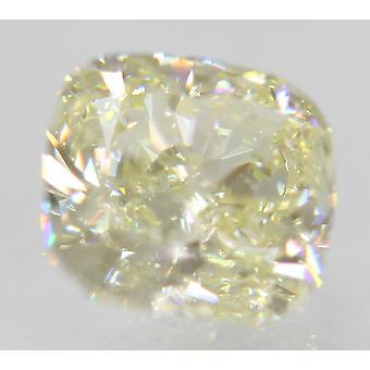 Certified 0.90 Carat J Color VVS1 Cushion Natural Loose Diamond 5.58x5.28mm 2EX