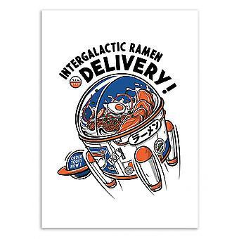 Art-Poster - Intergalactic Ramen - Paiheme Studio