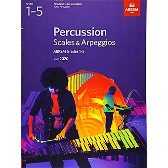 Percussion Scales & Arpeggios - ABRSM Grades 1-5 - from 2020 by AB