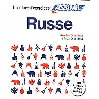 Coffret Cahiers d'exercices RUSSE - debutants + faux-debutants by Vict