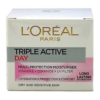 Crème de jour Active Triple loreal