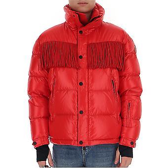 Moncler Grenoble 4193005c0349453 Men's Red Nylon Down Jacket