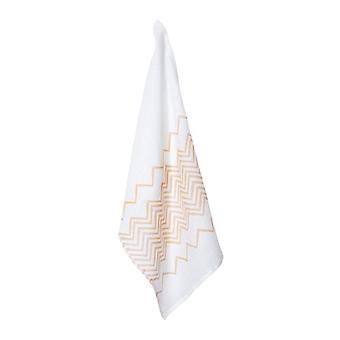 Panya Linen Tea Towel 50x70cm Blush