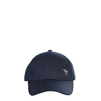 Ps By Paul Smith M2a987cazebra47 Men's Blue Cotton Hat