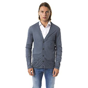 Grey Cardigan Byblos Man