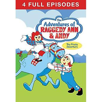Adventures of Raggedy Ann & Andy: Pirate 1 [DVD] USA import