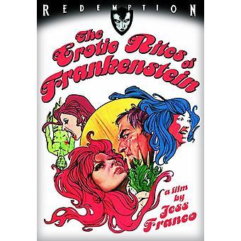 Erotic Rites of Frankenstein [DVD] USA import