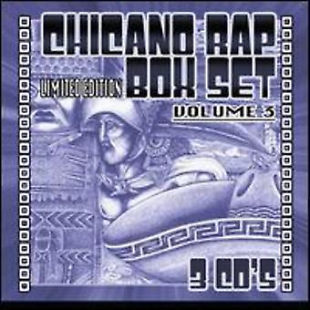 Chicano Rap Box - Vol. 3-Chicano Rap Box [CD] USA import
