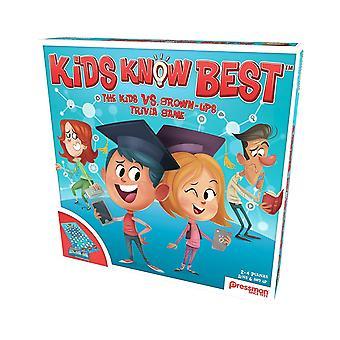 Pressman - kids know best trivia game