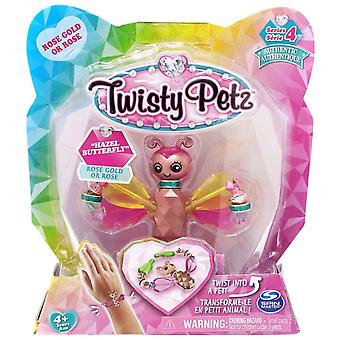 Twisty Petz Single Pack Series 4 - Hazel Butterfly - Rose Gold Or Rose