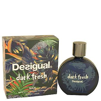 Desigual Dark Fresh Eau De Toilette Spray By Desigual 3.4 oz Eau De Toilette Spray