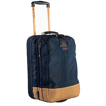 Rip Curl F-Light Cabin Hyke Wheeled Luggage in Navy