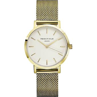 Rosefield tribeca Quartz Analog Women's Watch with TWG-T51 Gold Plated Stainless Steel Bracelet