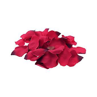 Лепестки розы красные искусственные ткани для свадьбы ремесла