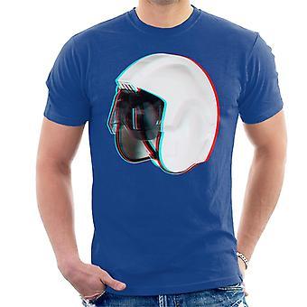 元ストームトルーパー反乱軍パイロット スタント ヘルメット 3 D 効果メンズ t シャツ
