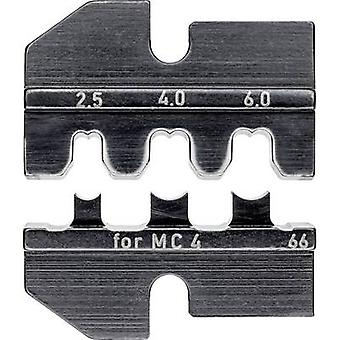 Knipex 97 49 66 Crimp inzet PV-connector MC4 2,5 tot 6 mm ² geschikt voor merk knipex 97 43 200, 97 43 e, 97 43 e aus, 97 43 e UK, 97 43 e US