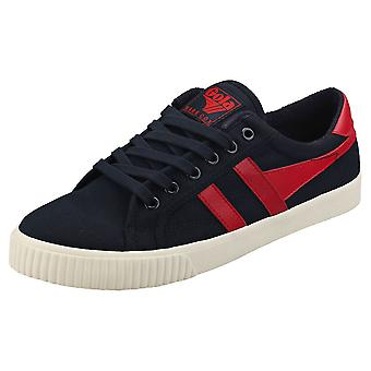 Gola Tennis Mark Cox Mens Casual Trainers in Navy Red