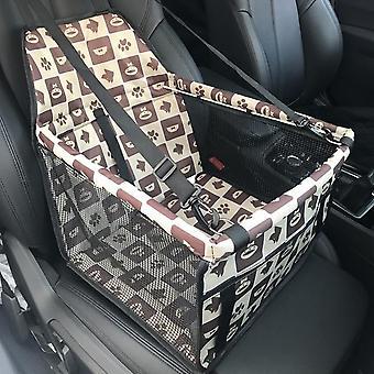Összecsukható travel autó fuvarozók bag kutyák macskák - vízálló fuvarozó kosár cover for Pet