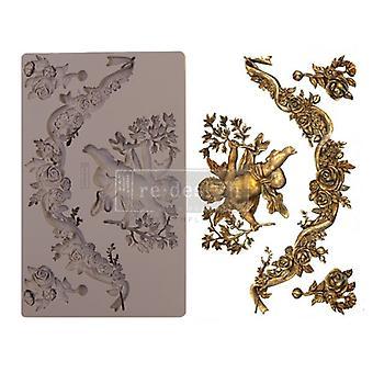 Re-diseño con Prima Divine Floral 5x8 pulgadas de molde