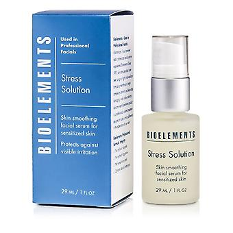 Bioelements Stress Solution - Skin Smoothing Facial Serum (For All Skin Types) 29ml/1oz