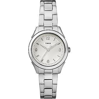 TW2R91500, City Torrington Timex Style Ladies Watch / Argent