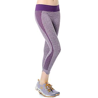 Jerf Womens Baft Purple Seamless Active Leggings