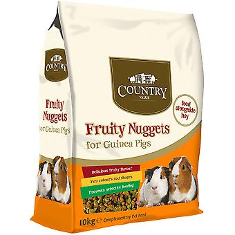 Country Value Fruity Nuggets for Guinea Pigs - 10kg