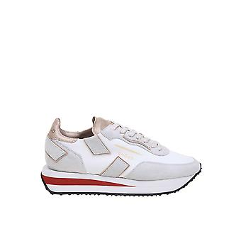 Ghoud Rxlwll02 Women's White Leather Sneakers