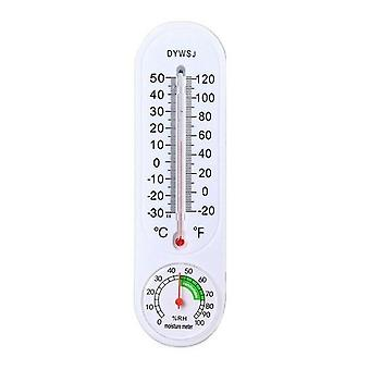 Wall Hung Thermometer For Indoor Outdoor Garden