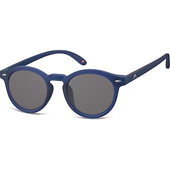 """Sunglasses Unisex Panto Cat.3 blue (""""s28d"""")"""