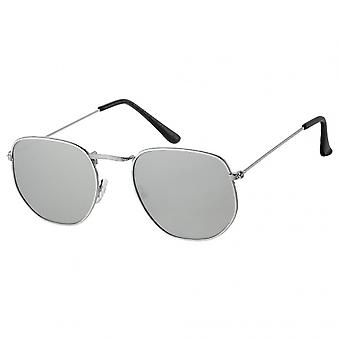 Sunglasses Unisex sport A30160 14.5 cm silver/brown