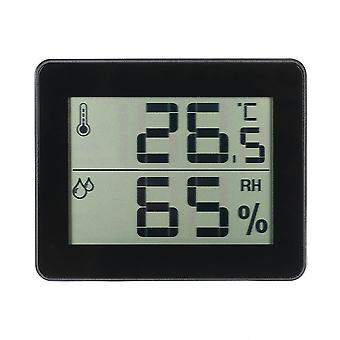 LCD Digital Temperature Temper Hygromètre Noir