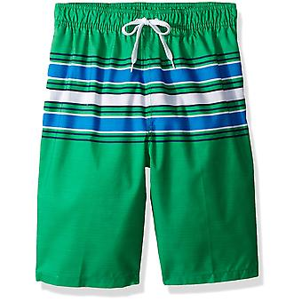 Kanu Surf Big Boys' Specter Quick Dry Beach Swim Trunk, Archer Green, Medium ...