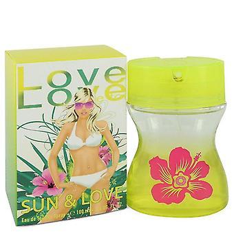 Sun & Love Eau De Toilette Spray By Cofinluxe 3.4 oz Eau De Toilette Spray