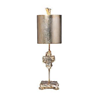 1 Lampe de table légère Argent, E27