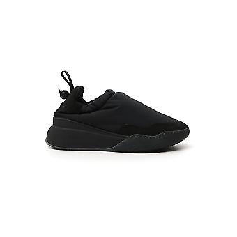 Stella Mccartney 800264n01611073 Heren's Black Fabric Slip On Sneakers