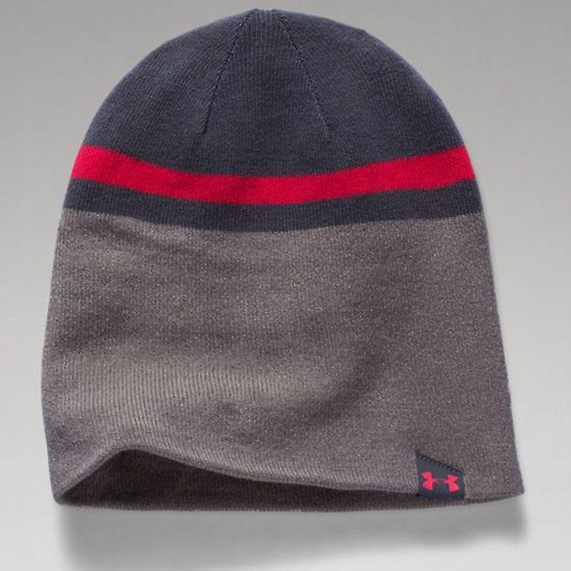 Men's 4in1 Beanie 2.0 - Stealth Gray, Tan Stone, Red