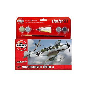 Messerschmitt Bf109E-3 1:72 Air Fix Small Starter Set