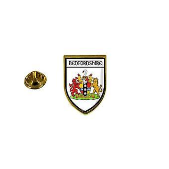 pins pin badge pin's souvenir ville drapeau pays blason bedfordshire r3