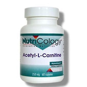 Nutricologie/ Allergie Onderzoeksgroep Acetyl L-Carnitine, 250 mg, 60 Caps