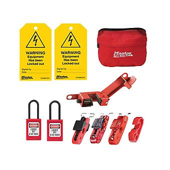 Master Lock Electrical Lockout / Tagout Kit 9-delige MLKSELECKIT