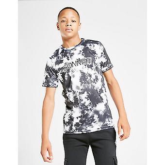 New Sonneti Boys-apos; Alpha Tie Dye T-Shirt Grey
