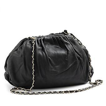 My Best Bags Negru Curled Piele
