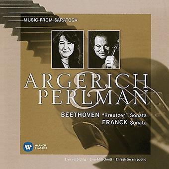 Beethoven / Perlman, Itzhak / Argerich, Marta - Kreutzer Sonata / Franck: Sonata [CD] USA import