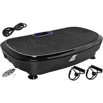 Vibrationstrainer Vibrationstrainer 3D Vibrationstechnik, 2x200W mit Bluetooth-Musik und Fernbedienung Black 8527