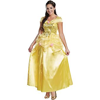 Womens Belle Deluxe Costume