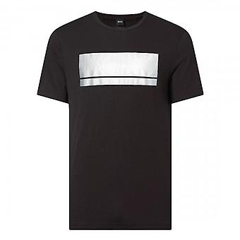 Boss Green Hugo Boss Teeonic Block Logo T-Shirt Black 50435898