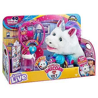 Little live pets 28863 little live rainglow unicorn vet set, no colour