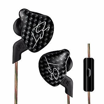 Yinyoo in ear monitors kz zst hybrid earphones banlance armature with dynamic in ear headphone 1ba+1